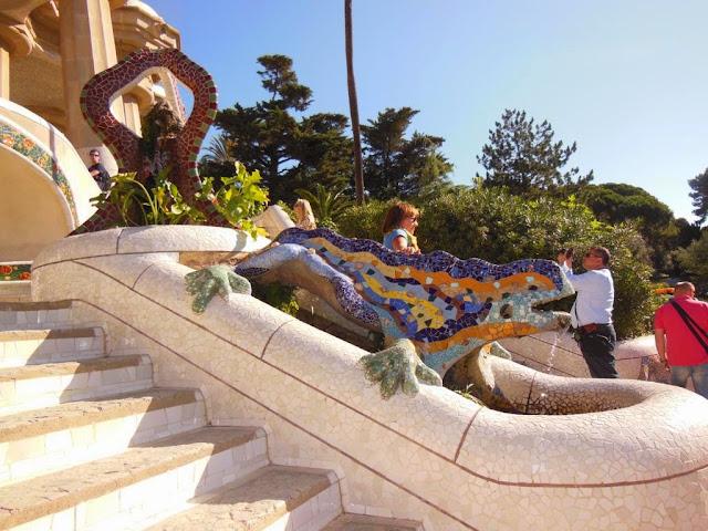 Escalera Monumental del Parque Güell