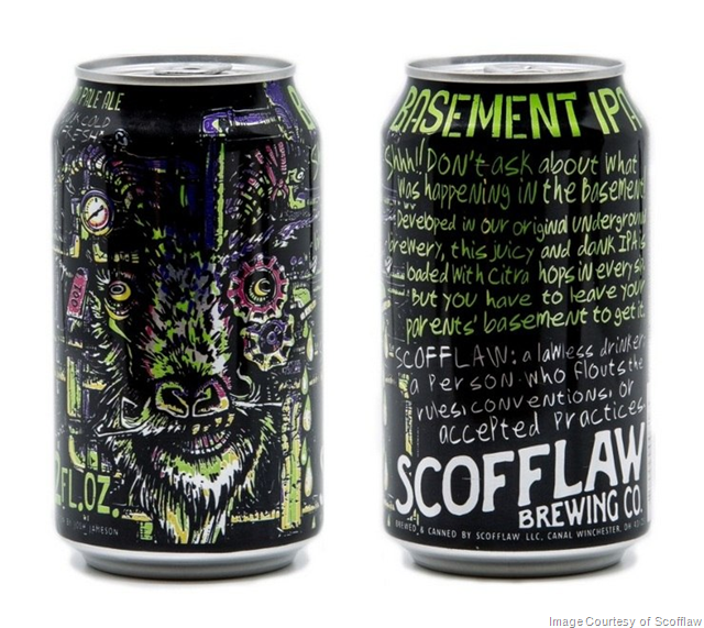 Scofflaw Brewing Adding New Can Designs