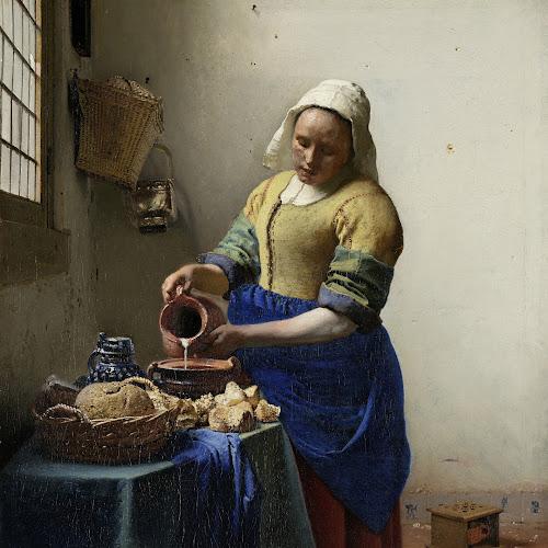 The Milkmaid - Rijksmuseum Amsterdam