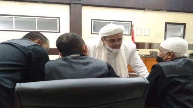 Habib Rizieq Bersyukur Kasus Kerumunan di Tebet Tidak Diproses Hukum