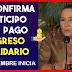 Dra. Susana Correa Confirma Anticipo PAGO ingreso Solidario para el 24 de DICIEMBRE