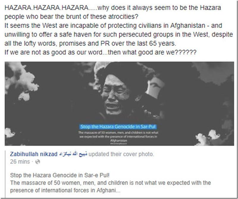 Hazara persecution