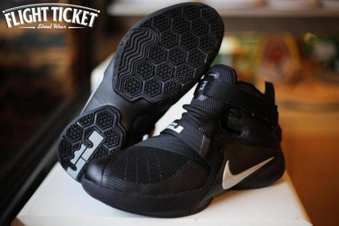 new product d2d01 d707f ... Nike LeBron Soldier 9 Blackout Launches on July 3rd Also
