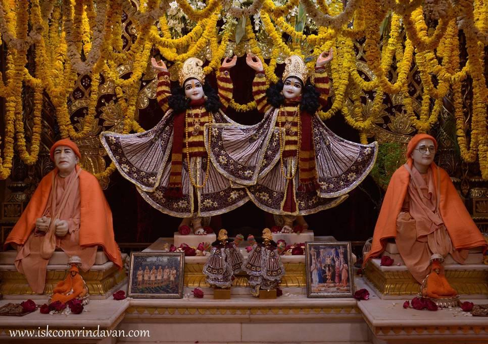ISKCON Vrindavan Mangal Deity Darshan 28 Feb 2016  (2)