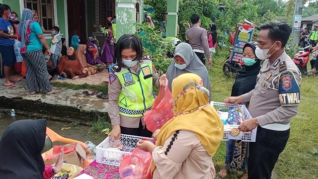Hari Ke VI Kedai Murah Satlantas Polres Sergai Roadshow Ke Tanjung Beringin