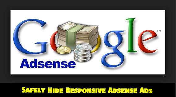 "hide Adsense ads using ""display none"""