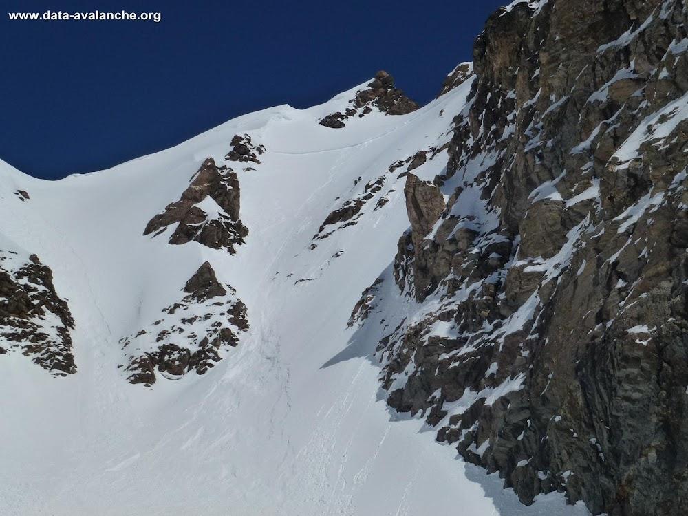 Avalanche Haute Tarentaise, secteur Grande Aiguille Rousse, Pas du Bouquetin - Photo 1