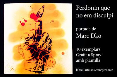 Marc Dko, coberta en grafit pel Perdonin