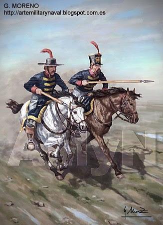 Los Charros. 1810
