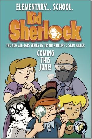 Kid Sherlock Poster