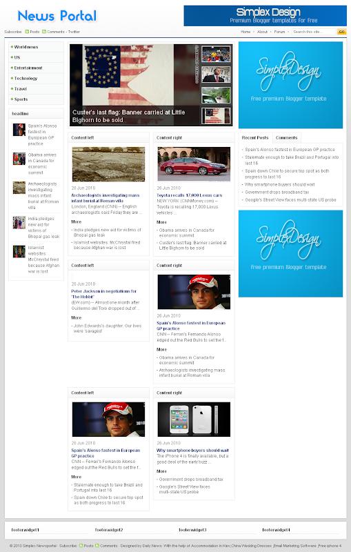 Simplex Newsportal