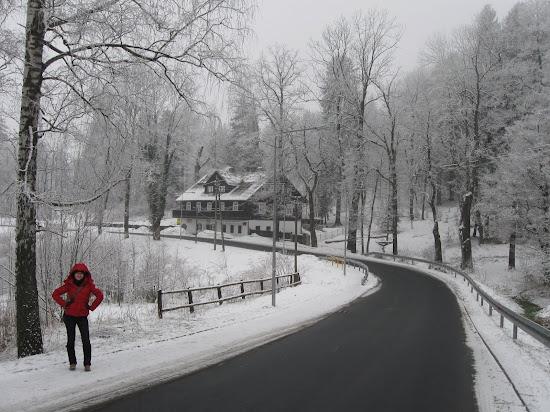 szklarska poręba zimą i muzeum karkonoskie