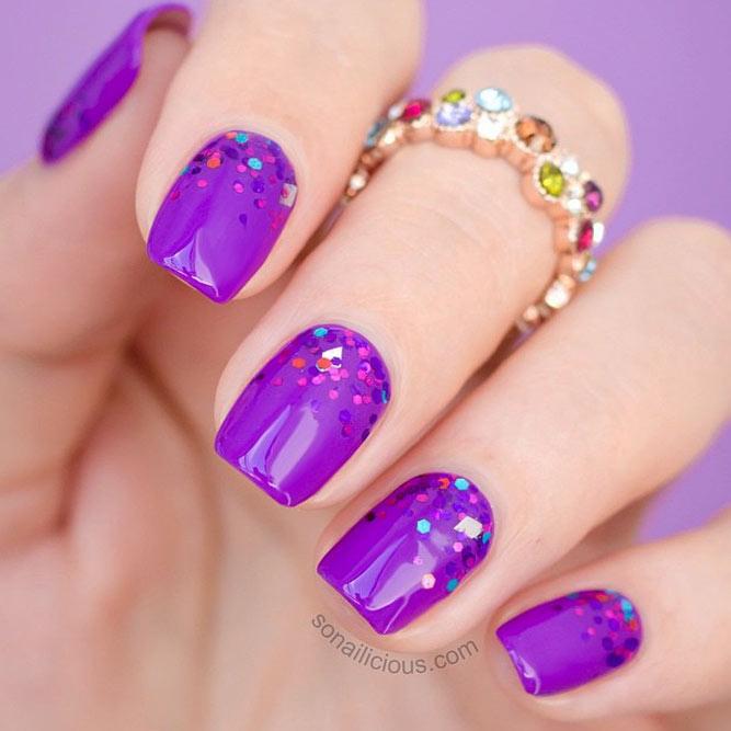 Light Purple Nail Polish Designs Hession Hairdressing