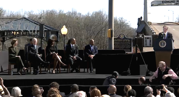President Obama's speech at Selma, Alabama