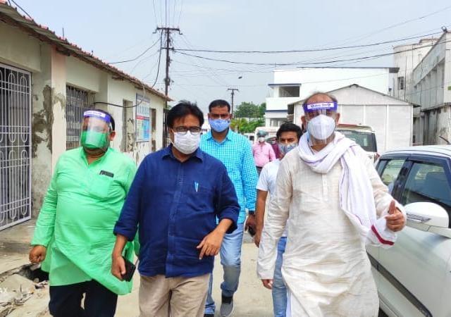 समस्तीपुर विधायक अख्तरुल इस्लाम शाहीन ने शनिवार को सदर अस्पताल का औचक निरीक्षण, व्यवस्थाओं का लिया जायजा