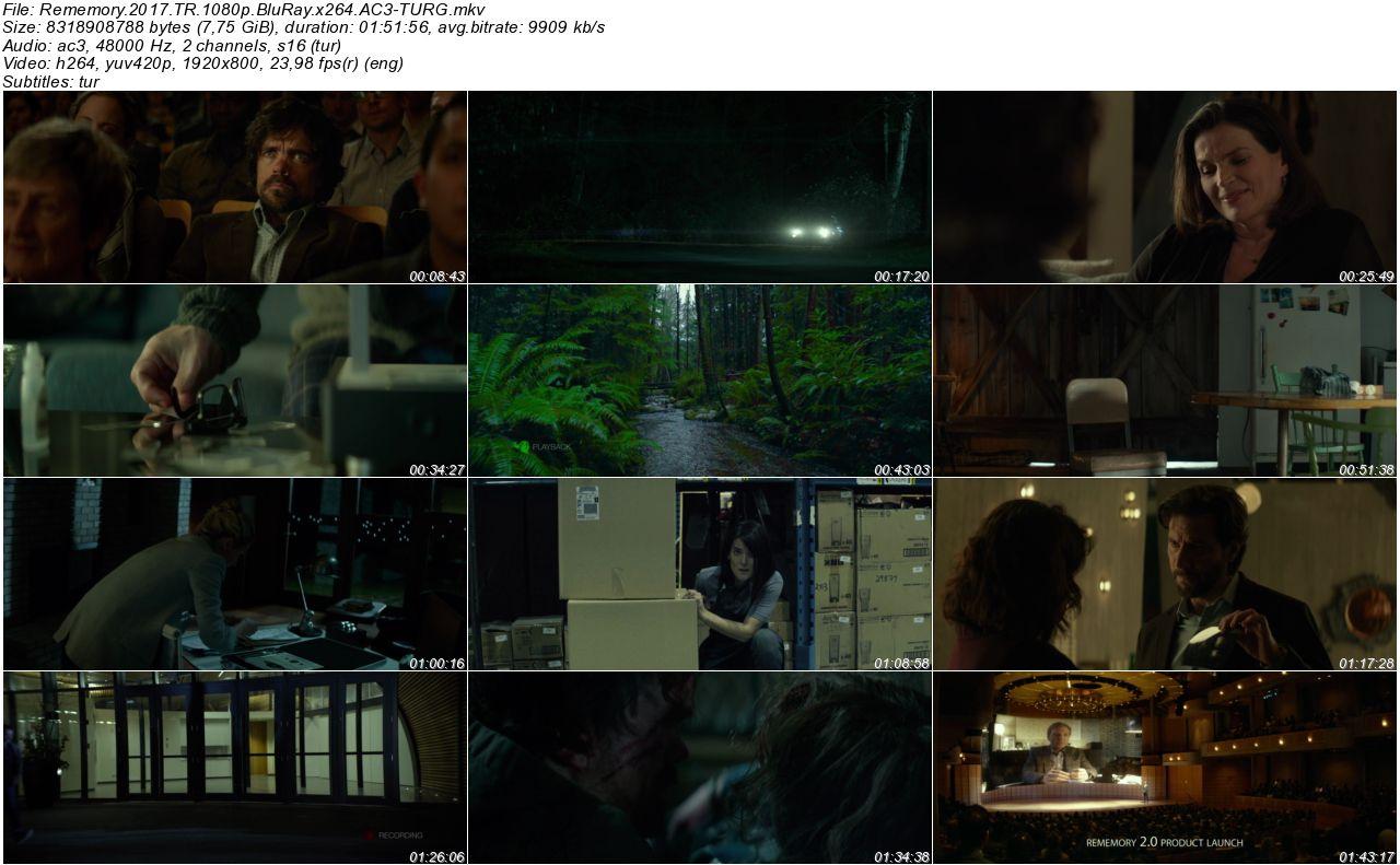 Hafıza 2017 - 1080p 720p 480p - Türkçe Dublaj Tek Link indir