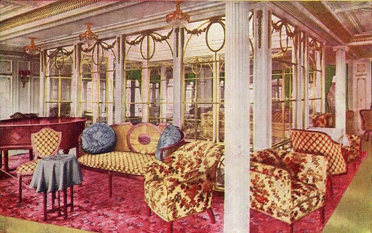 11-INFANTA ISABEL DE BORBON. Salón de musica. Libro de Información para el Pasajero. Años 1913-14.jpg
