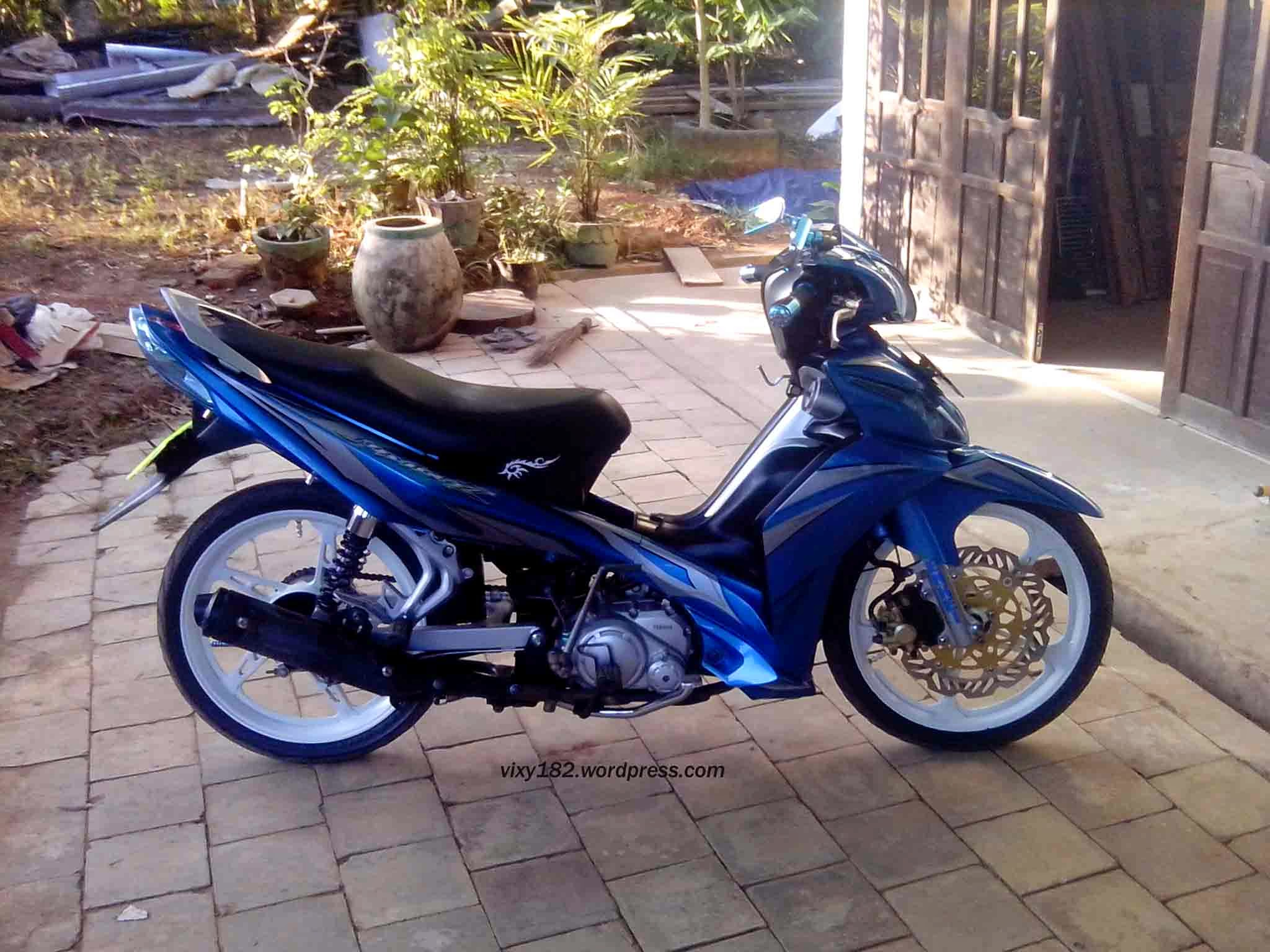 Motor Yamaha Jupiter Z Modifikasi Trail