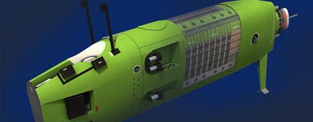 Deepsea Challenger Papercraft