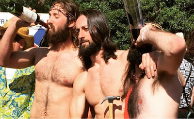 Gay-Sponsored Hunky Jesus Contest