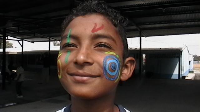 joven participante en itinerarte cr