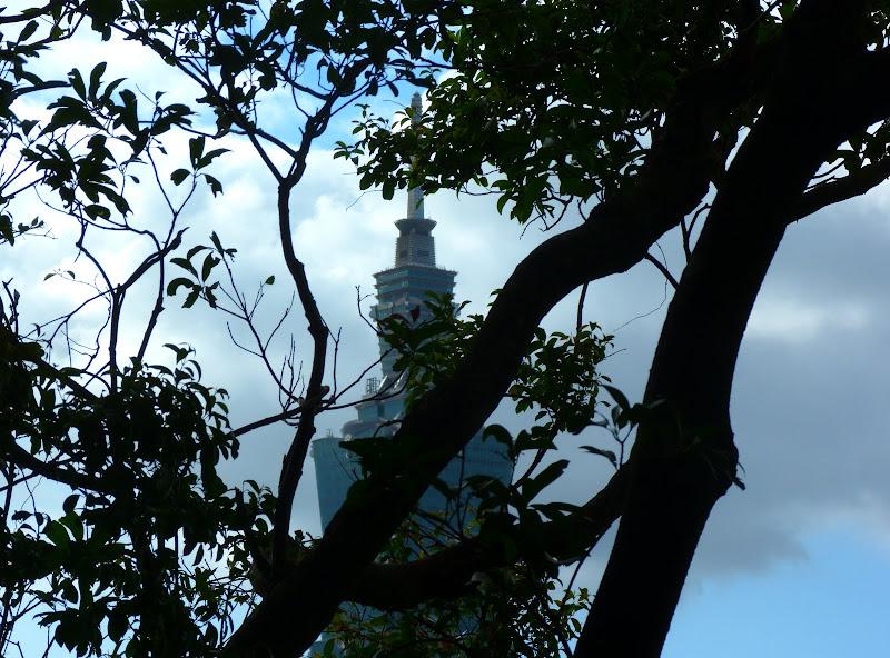 Taipei. Si Shou shan, en plein coeur de Taipei. Accès par un chemin bien plus sauvage. - P1240834.JPG