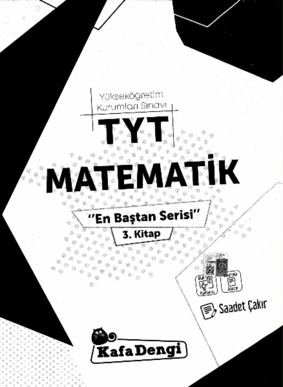 Kafa Dengi Yayınları TYT Matematik Soru Bankası