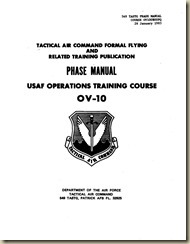 USAF OperationsTraining Course for the OV-10_01