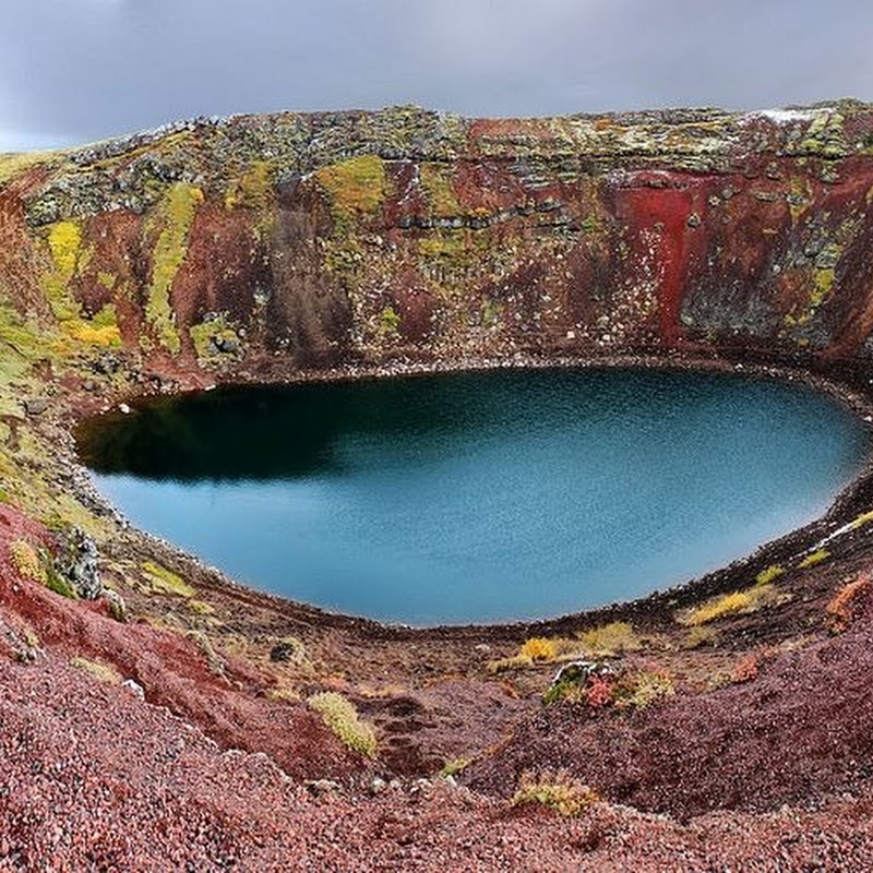 The Kerio Crater Lake in Iceland