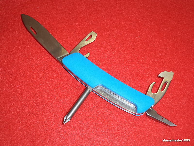 I Love Sak S Swiza D04 Blue Swiss Army Knife Sold