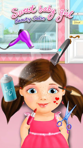 Sweet Baby Girl - Beauty Salon