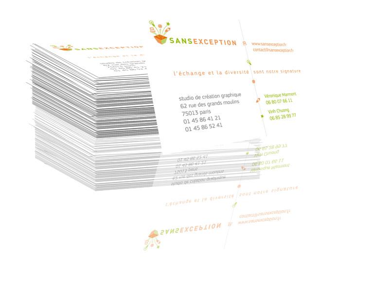 création cartes de visite