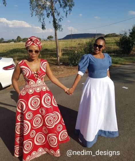 latest shweshwe dresses in South Africa in 2019 1