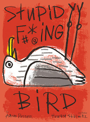 Art by Julia McNamara poster for Stupid F***ing Bird at Portland Center Stage. By Aaron Posner Directed by Howard Shalwitz
