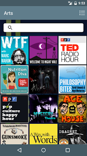 The Podcast Source- screenshot thumbnail