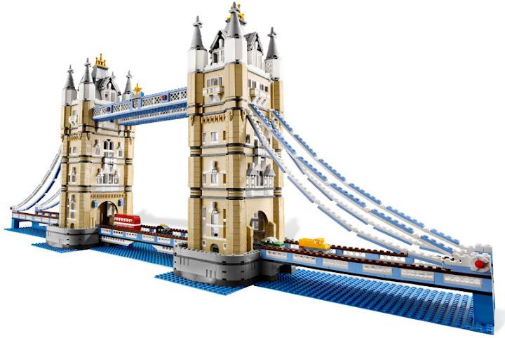 Contenido de Lego® 10214 Puente de Londres
