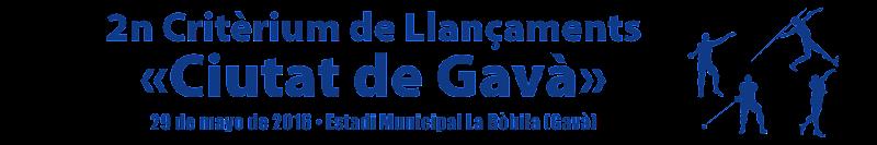 Critèrium de Llançaments «Ciutat de Gavà» (CASTELLANO)