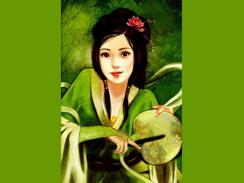 Lilas And Samurai, Magic Samurai Beauties