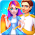 Long Hairs Bride Wedding Planner - Girls Game
