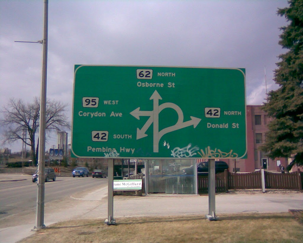 Some road signs, such as this one, have become infamous.
