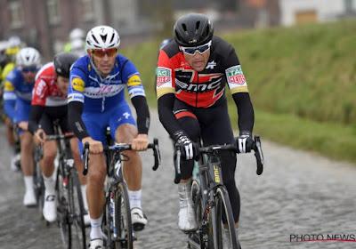 """Van Avermaet beseft: """"Als we een renner van Quick-Step mee hadden, was de koers gereden"""""""