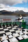 Vasilisa & The Giant Chessboard (Navimag Boat Trip, Chile)