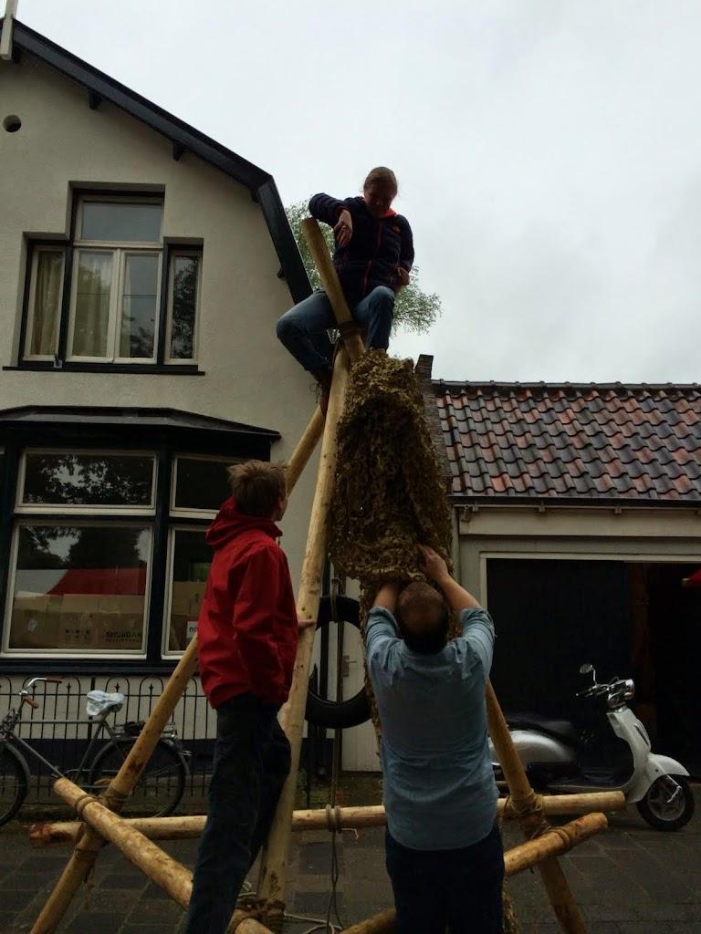 Maaike heeft vandaag zin in klimmen !