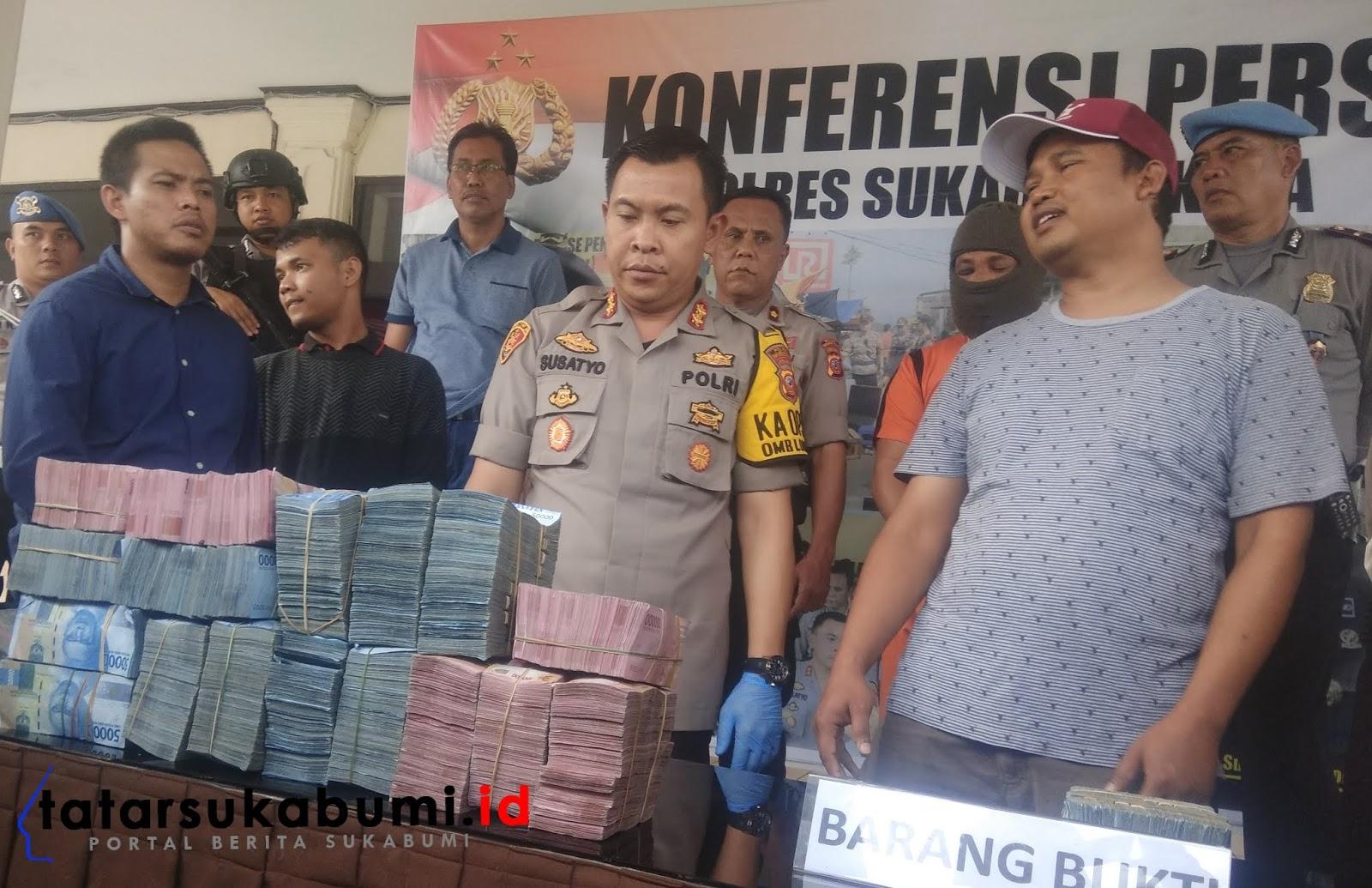 Jarah Uang 1,2 Milyar, Seperti Ini Cara Kawanan Perampok Beraksi di Sukabumi