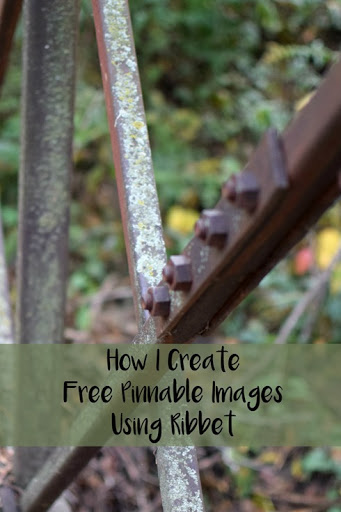 How I Create Free Pinnable Images Using Ribbet