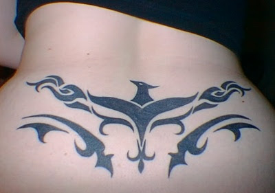lower back tattoo ideas for women