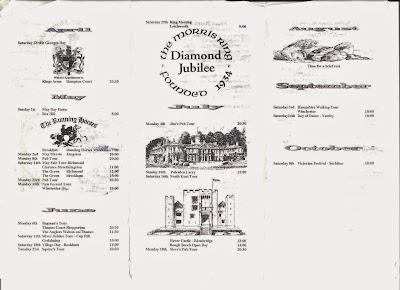 1994 Summer Programme -details