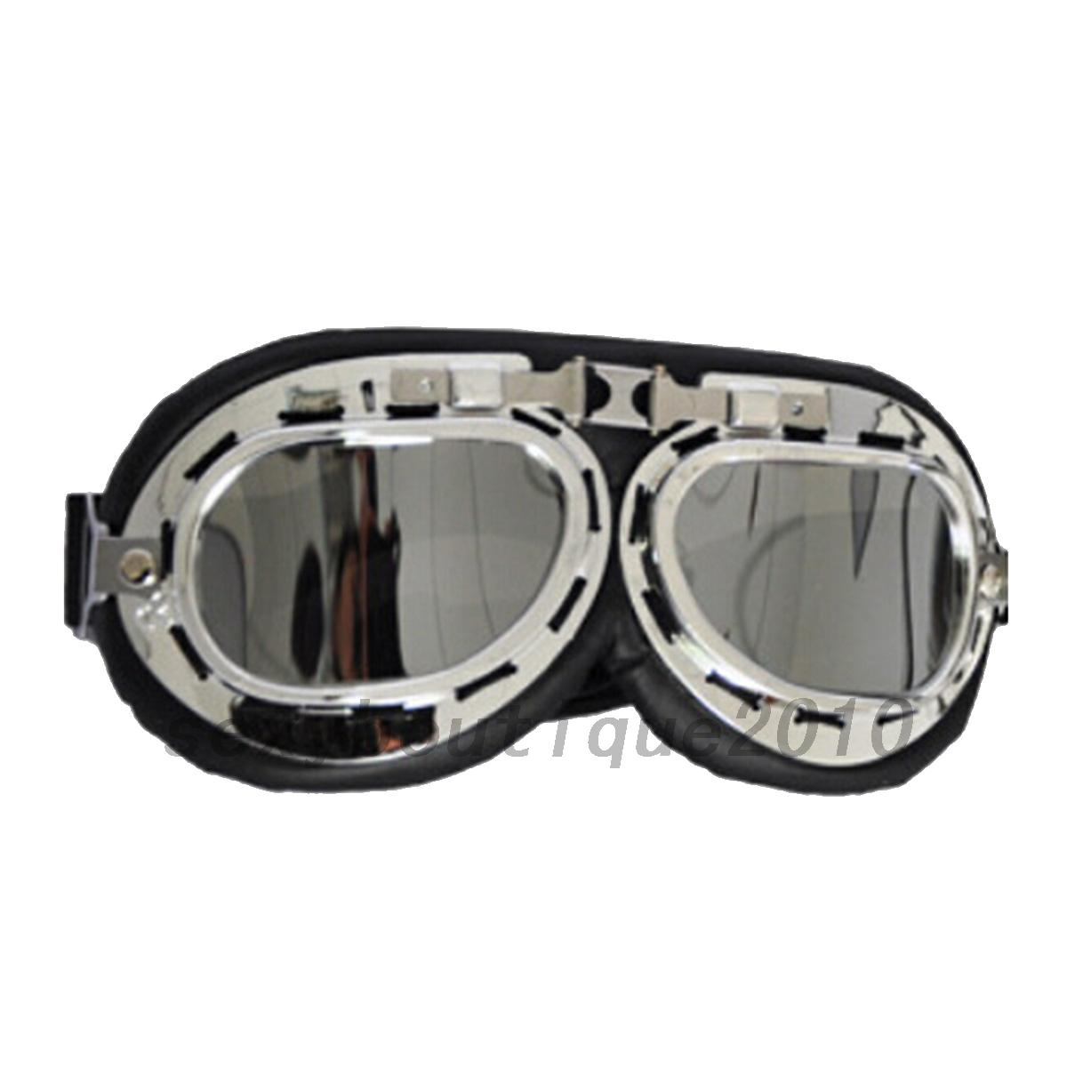 Goggle Style Sunglasses  fashion dust proof goggles motorcycle bike goggle glasses pilot