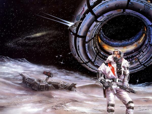 Spaceman On Planet Of Fogs, Fiction 1