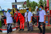 Bukan Hanya Paramedis, Pekerja SPBU di Bireuen Juga Kebagian APD dari KPMP Bireuen